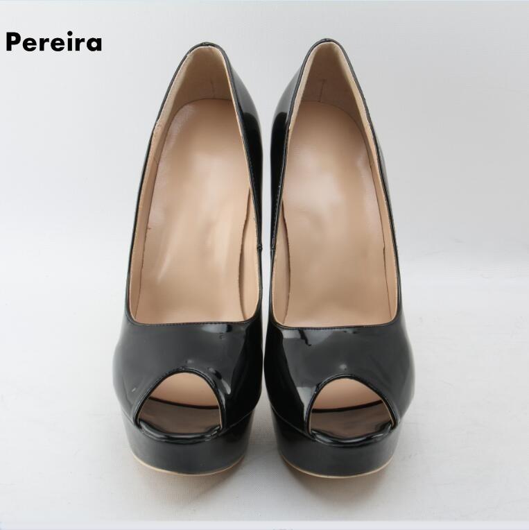 Chaussures as D'été Noir Picture Slip Haut Sandales Femme on Exposés Profonde Peu Bout Élégant As Talon 5cm Marque Célèbre Mince Picture À Platform3 qOwn17