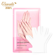 5 pairs = 10 pcs Moisturizing Hand Mask Snail Soft Masks Gloves Anti-aging Nourishing Face Skin Care Peeling Daralis