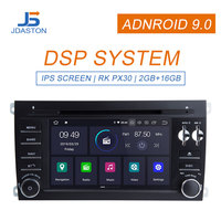 JDASTON Android 9.0 Car multimedia player For Porsche Cayenne 2003 2012 GPS Navigation 2 Din Car Radio Stereo WIFI Audio Canbus