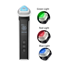 цена на Radio Frequency Facial Machines LED Light Photon Therapy Face Lift Skin Rejuvenation Wrinkle Removal RF EMS Beauty Instrument