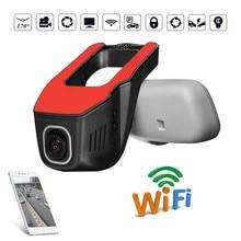 Kroak HD 1080 P WI-FI Видеорегистраторы для автомобилей Камеры для авто видео Регистраторы регистраторы Ночное видение автомобиля Камера Новатэк 96655 чип