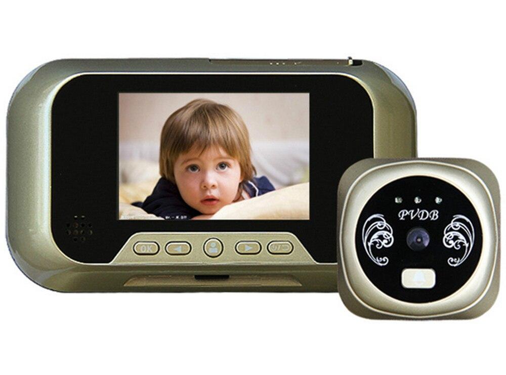 3.0 pouces 3X Zoom IR Vision nocturne judas visionneuse visiophone3.0 pouces 3X Zoom IR Vision nocturne judas visionneuse visiophone