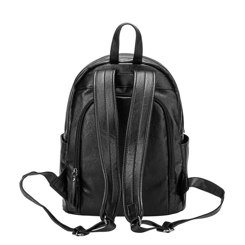 Brand New 2017 projektant skóry wołowej prawdziwej kobiet plecaki panie dziewczyna Laptop tornister prawdziwa duża pojemność 2019 N044