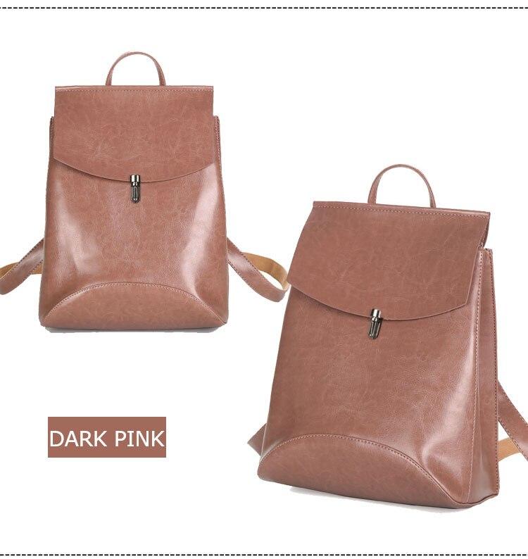 HTB14ronQ3HqK1RjSZFPq6AwapXaZ HOT Fashion Women Backpack High Quality Youth Leather Backpacks for Teenage Girls Female School Shoulder Bag Bagpack mochila