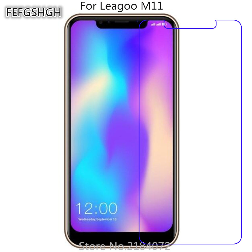 2PCS Tempered Glass For Leagoo M11 Protective Film 9H Screen Protector Explosion-proof For Leagoo M11