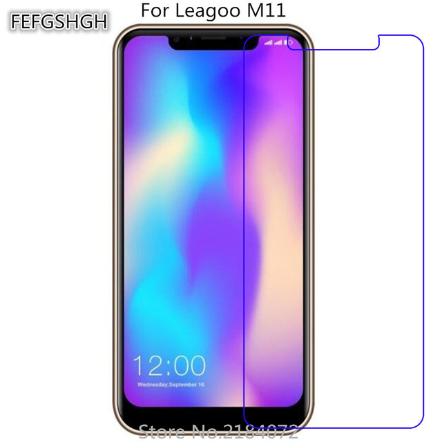 Szkło hartowane 2 sztuki dla Leagoo M11 folia ochronna 9 H hartowane przeciwwybuchowe dla Leagoo M11
