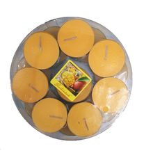 aroma candle scented fragrance candle wax tea lights romantic candle strawberry mango burning time 1 hours 24pcs