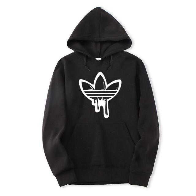 2018 Autumn Winter Men Sportswear Fashion Graffiti New Arrivals Hoodies & Sweatshirts Slim Fit Casual Streetwear free shipping