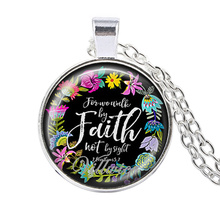 Christian Jewelry Bible Verses Pendant Necklace