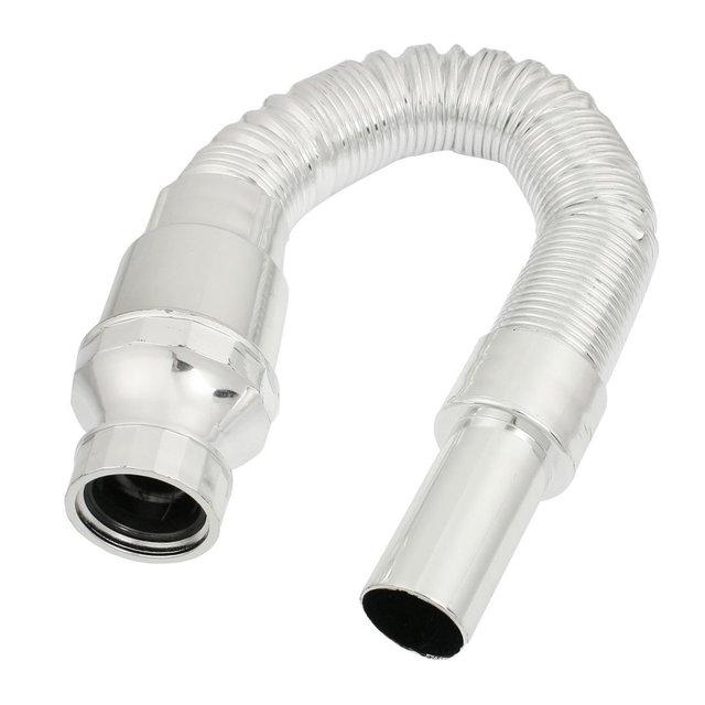 5x Kitchen Plastic Retractable Sink Basin Water Drain Pipe