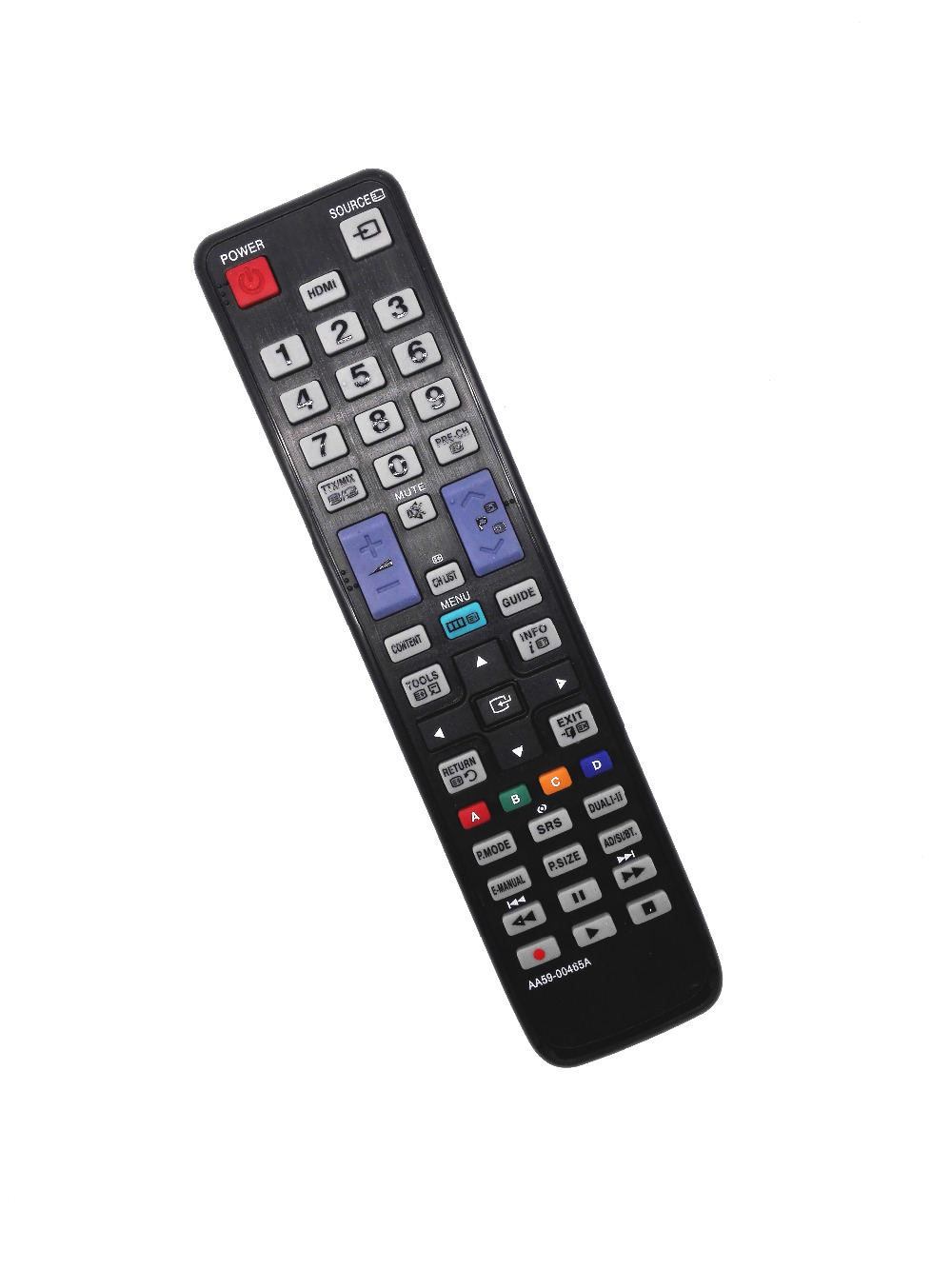 New RC280 TV Remote Control with Netflix HBO Sling keys fits for TCL