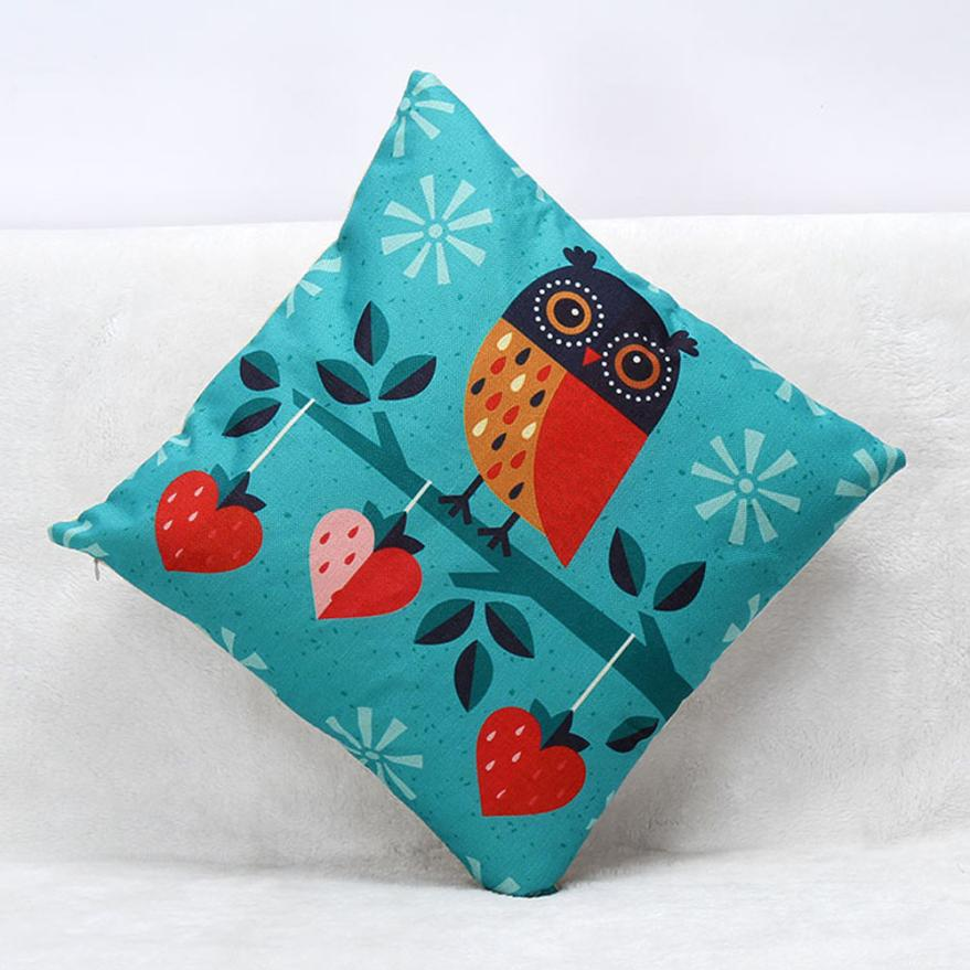 Gentler Lovely Meditation Cushion Animal Print Sofa Bed Home Decoration Festival Cushion Almofada Nuvem Coussin Enfant