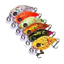 1Pcs/lot 46mm 4.5g Fishing Lures Hard Bait Minnow Fishing Lure Bass Crankbait Swimbait Trout Crank Baits with 12# hooks Tackle new 1pc 8 segment minnow swimbait lures crank bait baits hard bait fishing lures random color