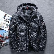 2019 Autumn Winter Down Jacket Short Parka Men Fashion Thick Warm Parkas Hooded Winter Coat Casual Camouflage Parka Male Clothes цена в Москве и Питере