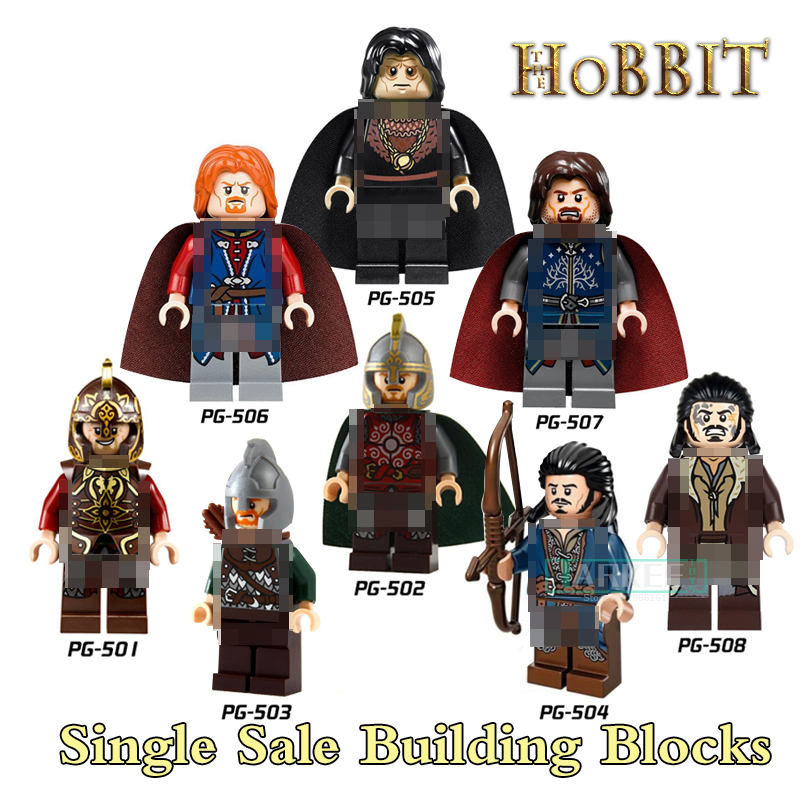 Buildiing Blocks Hobbit diy figures The Lord of the Rings King Theoden Knight Aragorn Super Heroes Brick Kids DIY Toys Xmas Gift lord of the rings pg518 witch king of angmar the black gate diy figures building blocks bricks kids diy toys hobbies single sale