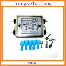 1 шт. EMI фильтр CW4L2-20A-T 20A 115 в 250 В CW4L2 CW4E 60/50 Гц монофазный Улучшенный AC