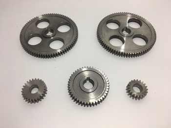 Free Shipping 5pcs/set CJ0618 machine tool gear Metal Gears Micro lathe gear Metal cutting gear - DISCOUNT ITEM  17% OFF All Category