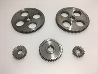 Free Shipping 5pcs/set CJ0618 machine tool gear Metal Gears Micro lathe gear Metal cutting gear