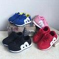 Bebê novo Outono Moda Sneakers Crianças Calçados Esportivos Tênis Malha Respirável Sapatos Fundo Macio das Crianças Das Meninas Dos Meninos Da Sapatilha