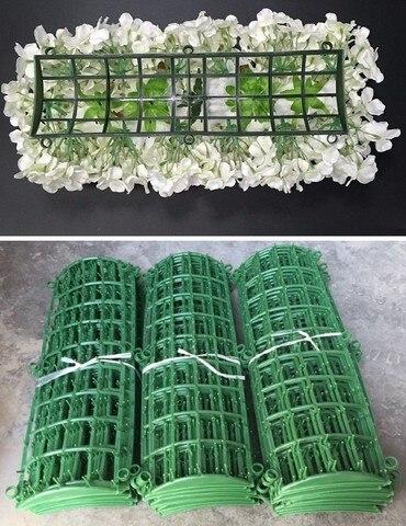 Suporte de Flor de Plástico Quadro para Flores Arcos de Parede Porta do Corredor Decoração de Casamento Pano de Fundo Linha de Flor Faça Você Mesmo Plástico Dobrado Sub-rack