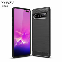 For Samsung Galaxy S10 5G Luxury Armor Rubber Soft Silicone Phone Case Cover Fundas