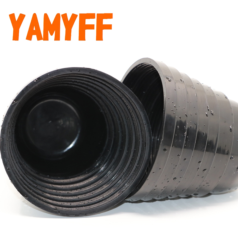 YAMYFF 2PCS Car Headlight Rubber Cover Universal Auto Rubber Sealing Dust Cover Cap Car LED HID Bulb Lamp Waterproof Dustproof