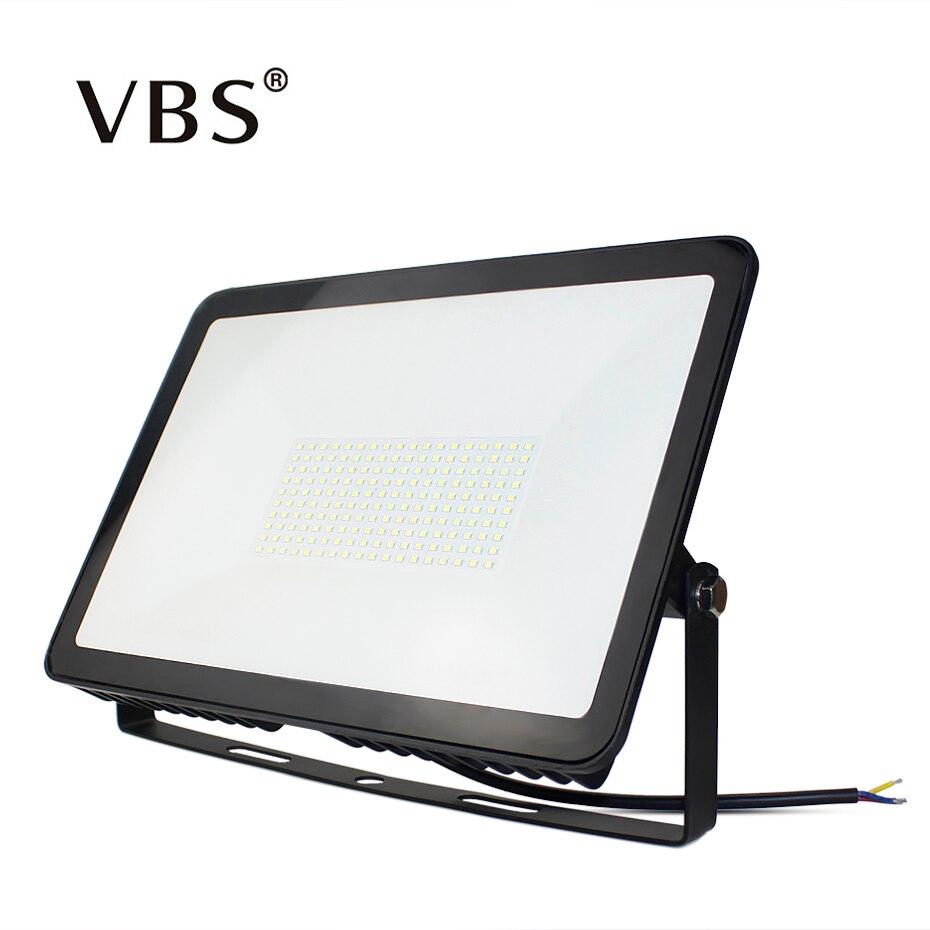 AC180-265V LED Lumière Crue 10 w 30 w 50 w 100 w 150 w LED Spotlight Refletor Éclairage Extérieur Imperméable À L'eau IP66 Ultra-Mince Projecteur