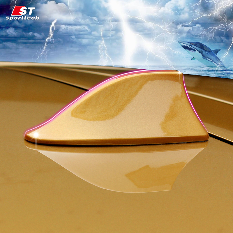 Car Styling Car Antenna Antena FM Antenna Covers For Nissan Antenne Voiture Shark Fin Roof Radio Aerial For Nissan Qashqai 2018 niorfnio portable 0 6w fm transmitter mp3 broadcast radio transmitter for car meeting tour guide y4409b