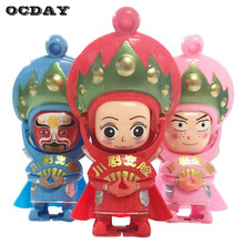 New Creative Chinese Souvenirs Sichuan Opera Toys Opera Face Changing Doll action Figure Toys Novelty China Tradition Culture цена
