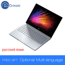 Dreami оригинальный xiaomi mi ноутбук воздуха 12.5 дюймов 4 ГБ ram 128 ГБ ssd dual core intel core m3-6y30 процессор windows10 xiaomi air ноутбук