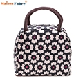 New Fashion Lancheira Lunch Bag Cooler Insulated Lunch Bags Thermal Bag Lunchbox Food Picinic Carry Bag Handbag Tote Jan-6