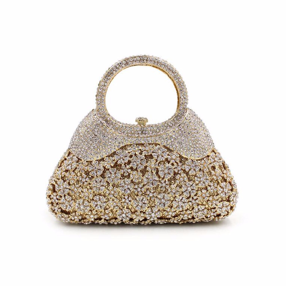 BL039 Luxury diamante evening bags colorful clutch bags women party purse  dinner bags crystal handbags gemstone wedding bags
