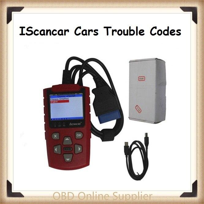 2019 NOVA Super VAG Xhorse IScancar VAG KM IMMO OBD2 OBD2 Scanner de Código de Super VAG 3.0 IScancar Scanner Atualização Online fash Shippin