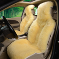 car covers 2 pieces universal leather car seat cover for yeti Rapid lancer 10 LAND CRUISER Solaris Megan 2