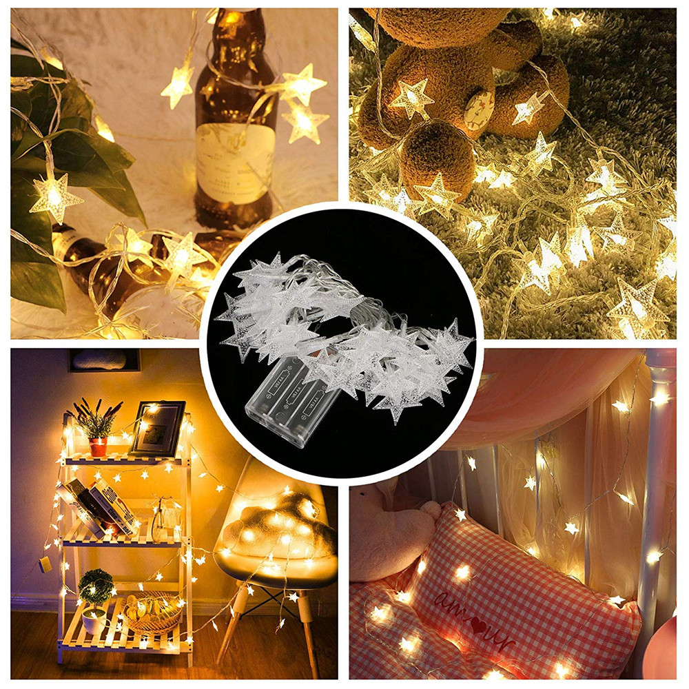 10//20//30//40//50LED Christmas Tree Fairy String Party Lights Xmax Waterproof Lamp