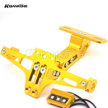 Motorcycle License Plate Bracket Licence Holder Frame Number FOR KTM 65SX XC 85SX 105SX 125EXC 125 144SX