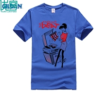Fashion new hip-hop cotton casual dancing and record player men's T-shirt Ska special 2 Tone two Tee shirt