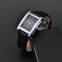 WoMaGe Женские часы лучший бренд роскошные женские часы кожаный ремешок женские прямоугольные часы Reloj Mujer