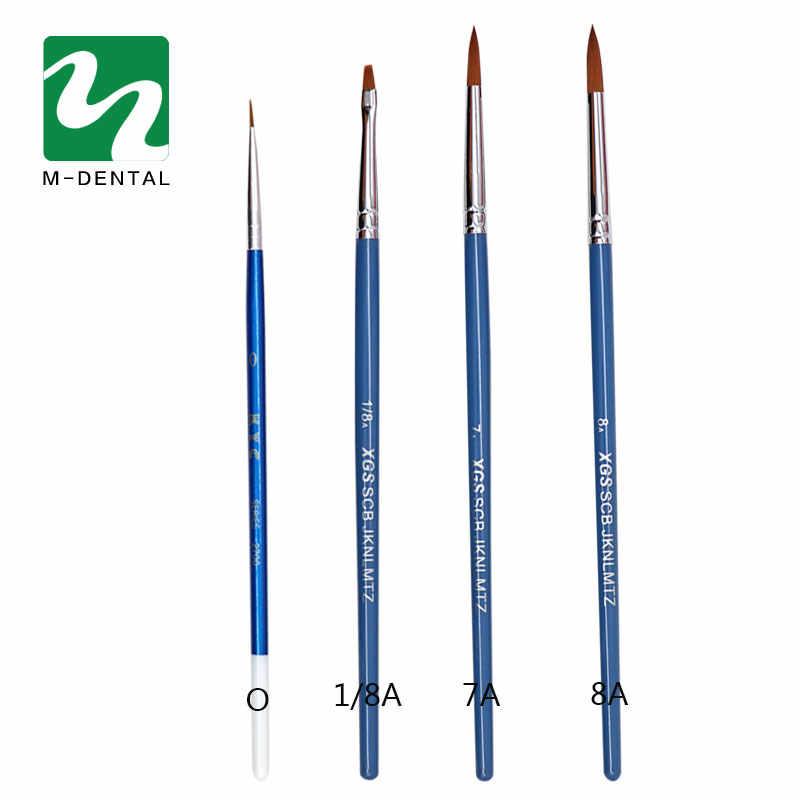 فرشاة الأسنان البورسلين القلم معدات مختبر الأسنان أدوات طبيب الأسنان