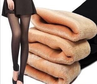 Frete grátis New Sexy cílios Sheer velo estiramento mulheres Footless calças justas meia calça