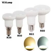 E14 E27 調光 led 電球 R39 R50 R63 R80 bombillas ランプランパーダアンプルスポットライトライト 5 ワット 7 ワット 9 ワットエネルギー 220 v 110 v