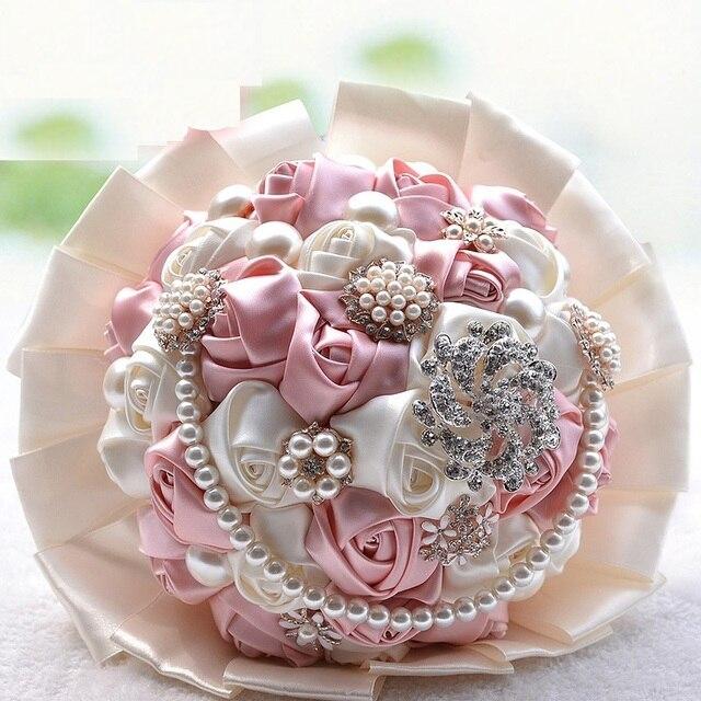 ramos de novia bouquet de fleurs mariage gorgeous beaded crystal ...