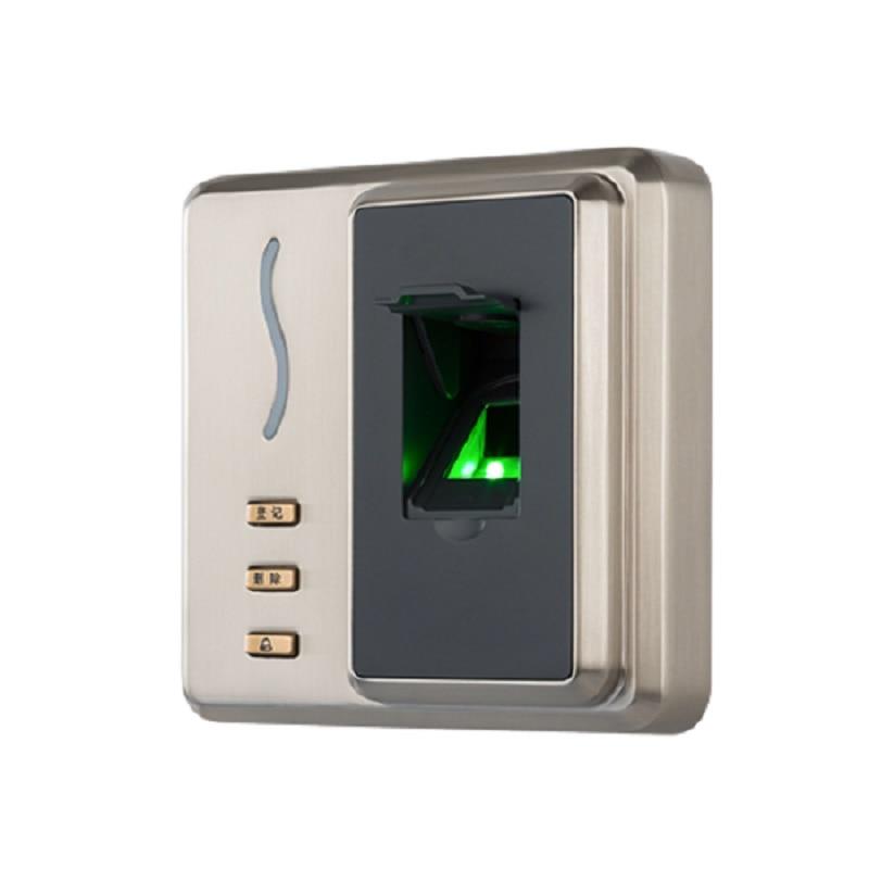 ZKTeco SF101 Boîtier Métallique IP65 D'empreintes Digitales Biométrique RFID lecteur de Contrôle D'accès contrôleur d'accès USB Client Bouton en Chinois