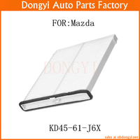 New Cabin Filter Air Conditioner Filter OEM KD45 61 J6X KD4561J6X For Mazda 3 6 CX