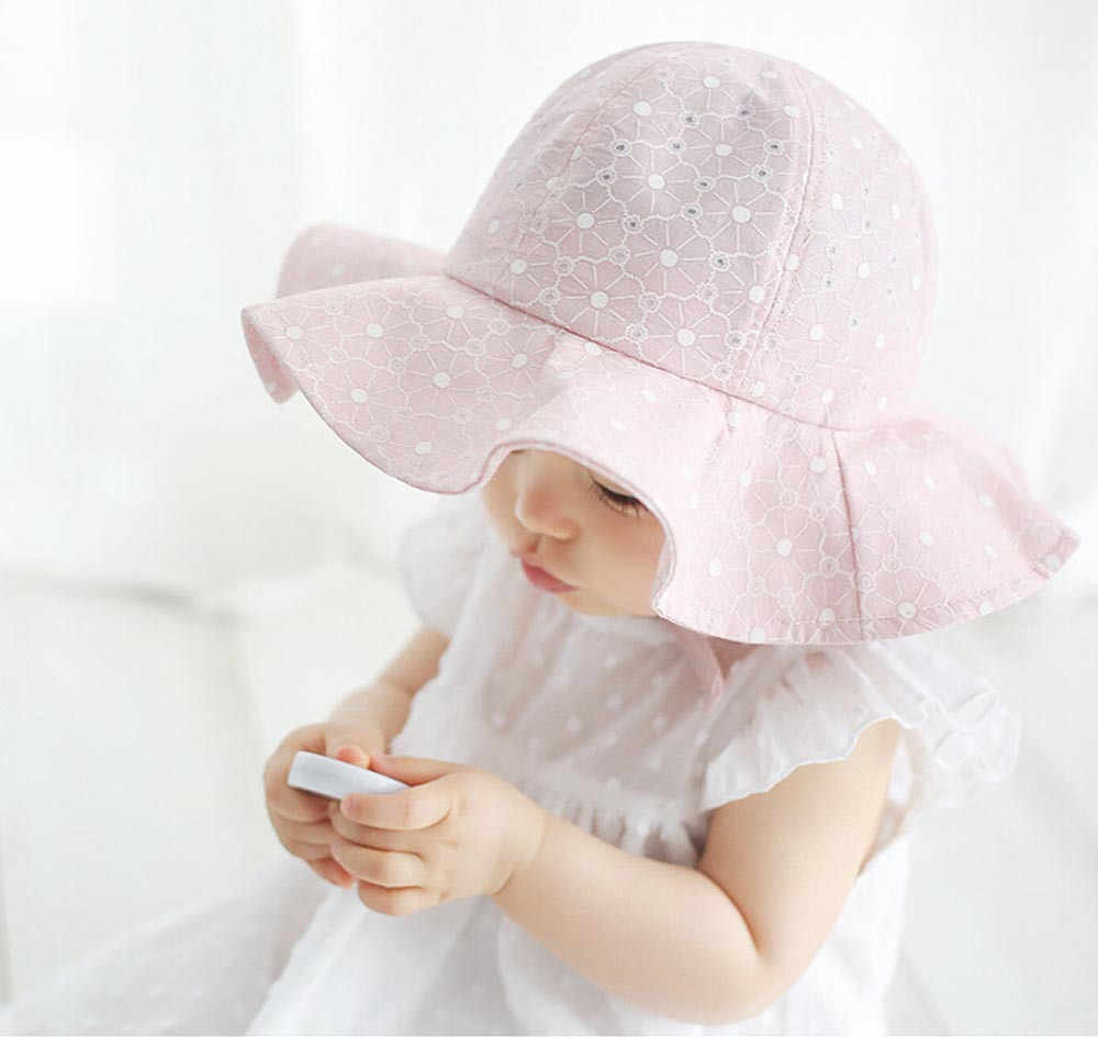 1ae4ae8cf58 ... Baby hats Toddler Infant Kids Sun Cap Summer Outdoor Baby Girls Boys  Sun Beach Cotton Hat ...