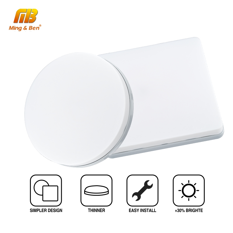 Ultra Thin LED Ceiling Lamp LED Modern Panel Light 48W 36W 24W 18W 9W 6W 85-265V Bedroom Kitchen Surface Mount Flush Panel Light 3
