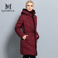 Winter Thick Bio Down Jacket Women Coat Thick Fashion Hooded Parka Winter Women Cloth With Natural