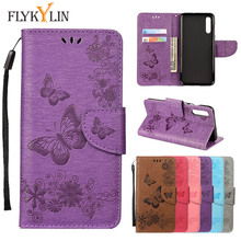 Leather Case on sFor Samsung Galaxy A30 A50 M10 M20 M30 cover For S6 S7 Edge S8 S9 S10 Plus S10e Flip wallet Phone Cases