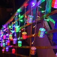 LED String Lights Holiday Decorations For Home Christmas New Year S Day Festival Wedding Fairy Wooden