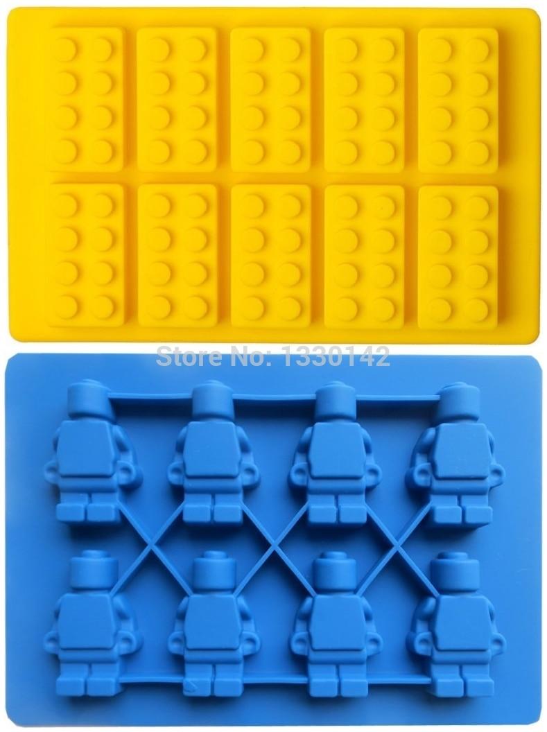Lego man lego building bricks style lego building block for Ice block construction